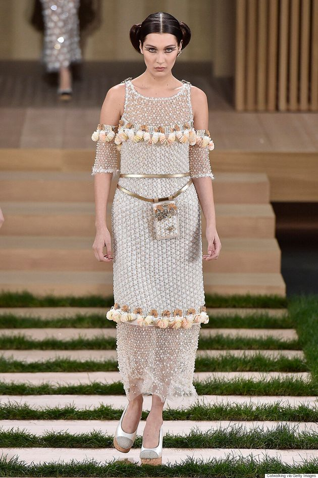 Gigi And Bella Hadid Make Their Chanel Couture Debuts in