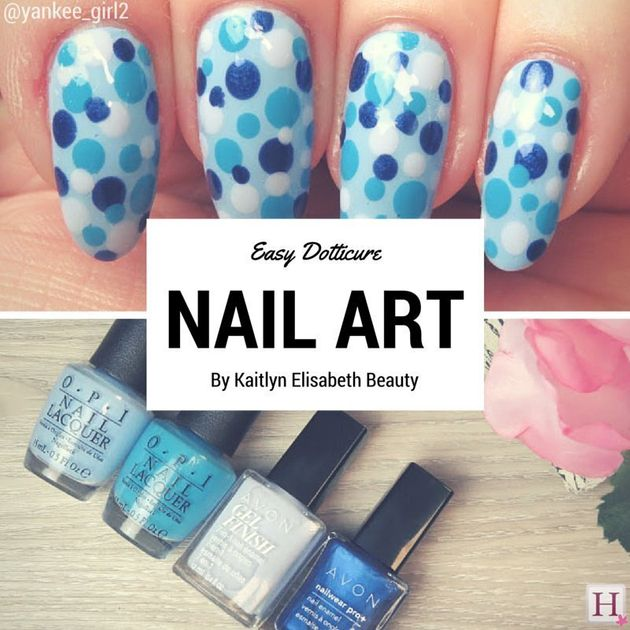 Nail Art: A Dotticure Design That's Fun And Easy For
