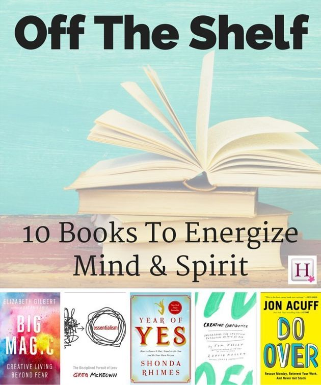 Off The Shelf: 10 Motivational Books To Read In
