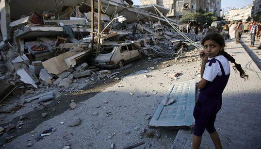 WATCH: Gaza City Is A