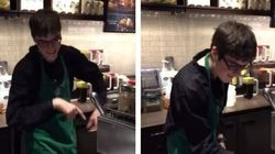 Toronto Starbucks Barista With Autism Has Serious Dance