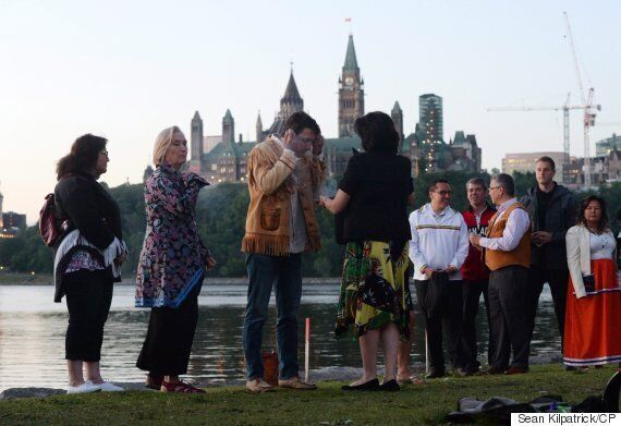 Trudeau Marks National Aboriginal Day With Sunrise