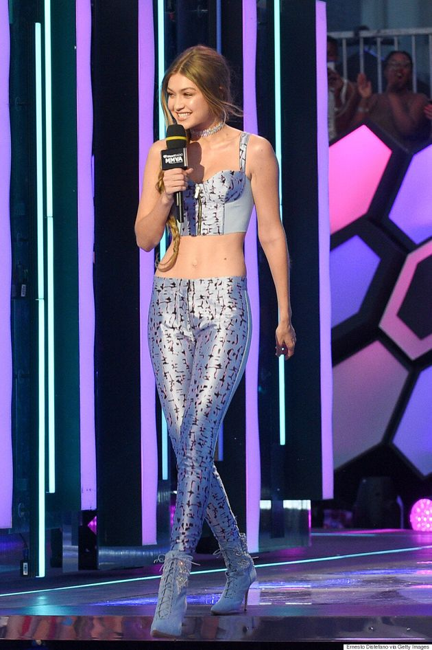MMVAs 2016: Gigi Hadid Makes 6 Impressive Outfit Changes As Host Of The