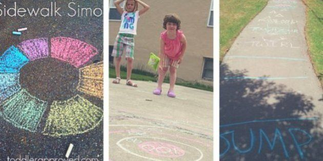 Outdoor Games For Kids: Take Hopscotch To A Whole New