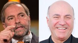 NDP Works Kevin O'Leary's Name Into Fundraising