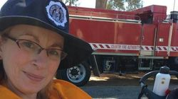 Firefighter Proves She's A Superhero With This