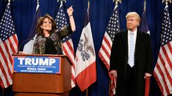 Tina Fey Brings Back Sarah Palin Impression To Endorse