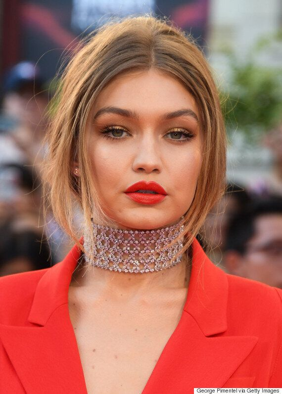 Gigi Hadid Beat The 2016 MMVA Red Carpet At Its Own