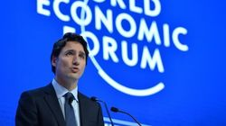 PM's Remark About Harper Not Included In Davos Speech