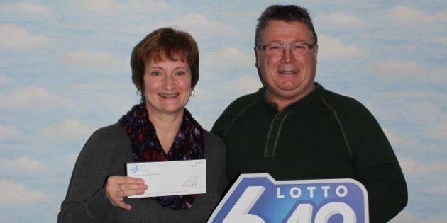 Saskatchewan Couple Joked About Lotto Win, Then Found Out It Was