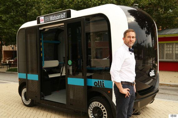 Olli, The Self-Driving Car, Has IBM's Watson For A