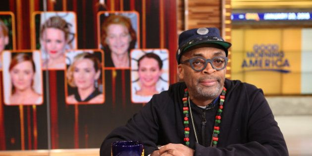 GOOD MORNING AMERICA - Spike Lee discusses his boycott of the Oscars on 'Good Morning America,' 1/20/16, airing on the ABC Television Network.  (Photo by Fred Lee/ABC via Getty Images) SPIKE LEE