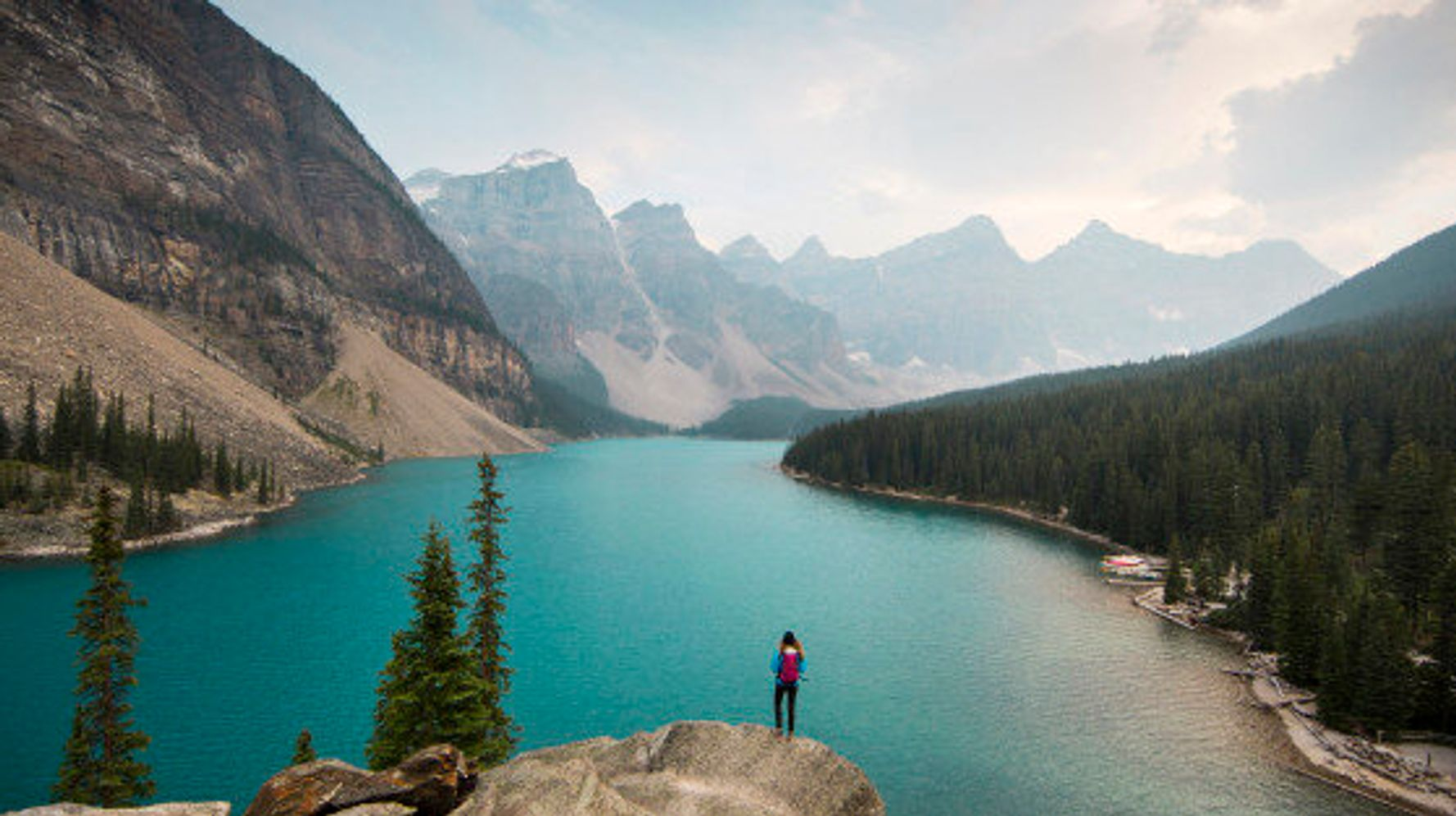 abraham, Lake, Banff, Alberta, Canada, Sky, Mountain, Lake