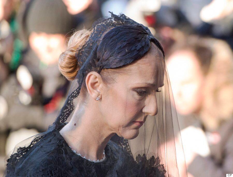 Celine Dion Says Final Goodbye To Rene Angelil