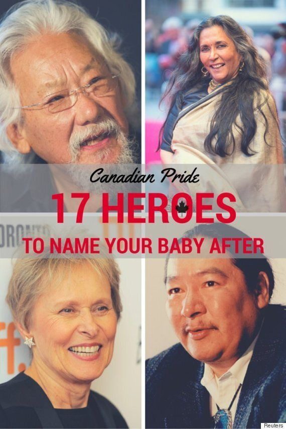Canadian Baby Names: 17 Heroes You'd Be Proud To Name Your Kids
