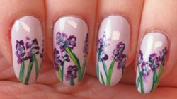 This Gorgeous Floral Nail Art Is Easier Than It