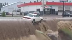 Dawson Creek Flooding Forces