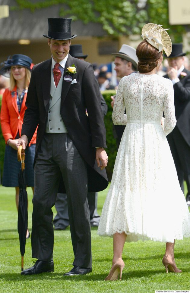 Kate Middleton's Royal Ascot Outfit Was Accessorized With A Name
