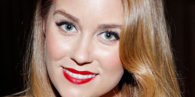 Lauren Conrad attends Design for the Cure at the Millenium Biltmore Hotel on Saturday, Oct. 13, 2012,...