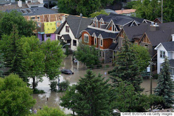Floods In Canada Cost Government, Homeowners Big Time: