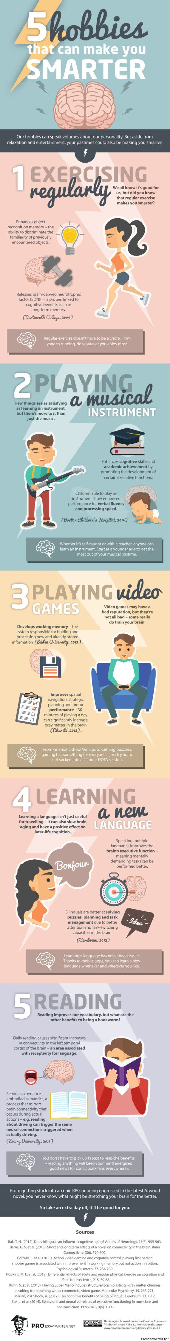 5 Hobbies That Will Make You