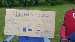 Saskatchewan Boy Sells Lemonade To Help Parents Pay