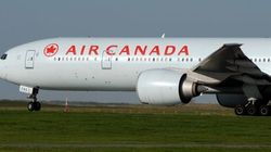 Air Canada Flight Lands In Tel Aviv Amid Rocket