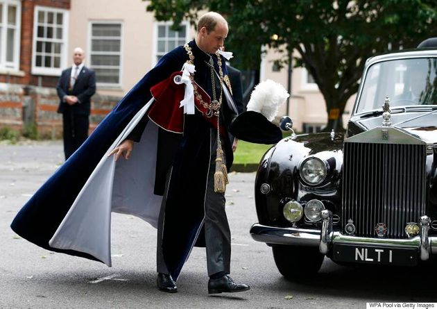 Stop Looking At Kate Middleton And Look At Prince William's Beautiful Velvet