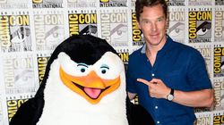 Benedict Cumberbatch Gets Frisky With A