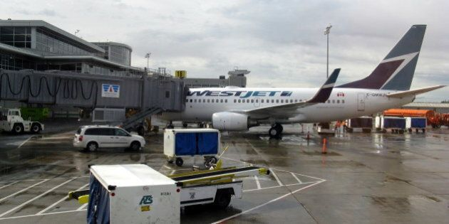 Flights Cancelled Because Of High Winds At Edmonton