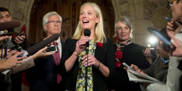 Catherine McKenna: Tories' Emissions Target Will Be Floor For Future