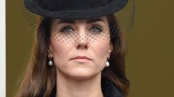 Kate Middleton Steps Out In McQueen For Remembrance Day