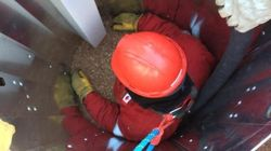 Sask. Firefighters Train With New Grain Entrapment Rescue