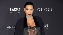 Kim Kardashian's Sheer Outfit Leaves Little To The