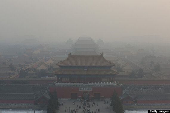 Yellowknife Looks Like Beijing Right Now