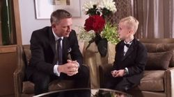 An 8-Year-Old Bond Superfan Met Daniel Craig, And It Was
