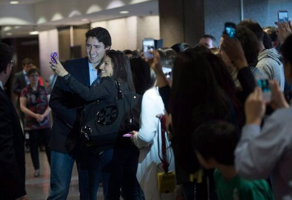 Trudeau Receives Rock Star Reception From Civil
