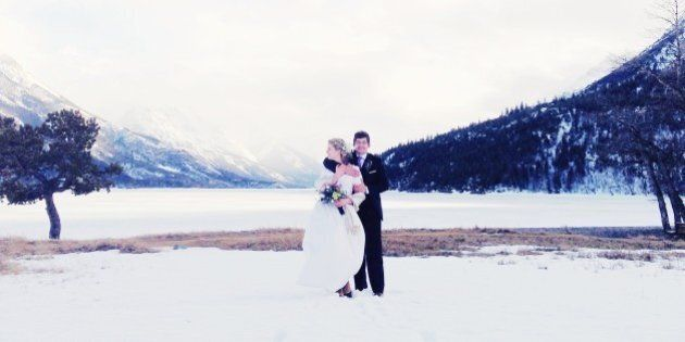 Wedding in Waterton national