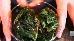 Kale Chips Are The Perfect Way To Get Kids Eating This