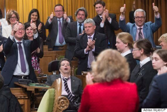 Mauril Belanger In Commons To See Gender-Neutral Anthem Bill Move