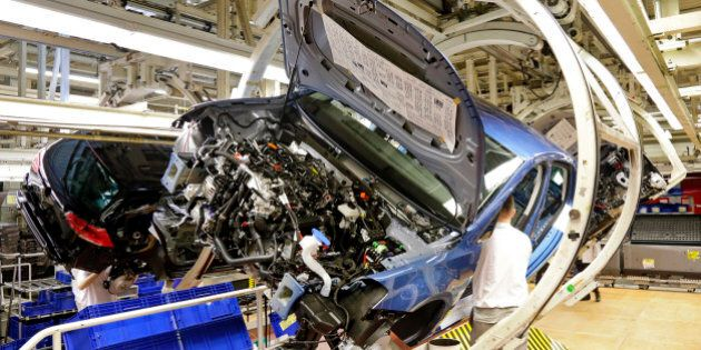 car production, Wolfsburg,