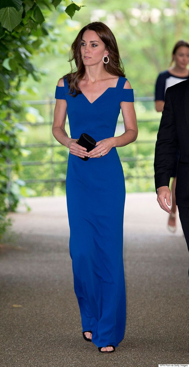 Kate Middleton Scores Big With Catherine Walker Coat Dress At Queen's 90th Birthday