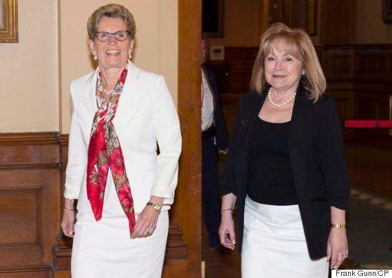 Madeleine Meilleur, Ontario Attorney General, Announces