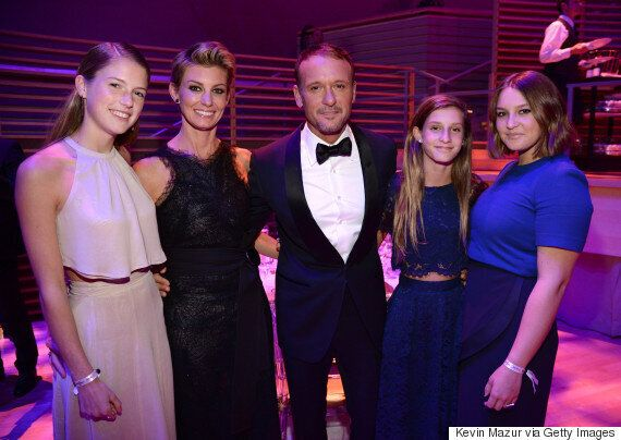 Tim McGraw Kids: Faith Hill And Her Daughter Look Eerily