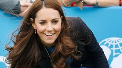 LOOK: Kate Middleton Bowls In Cute