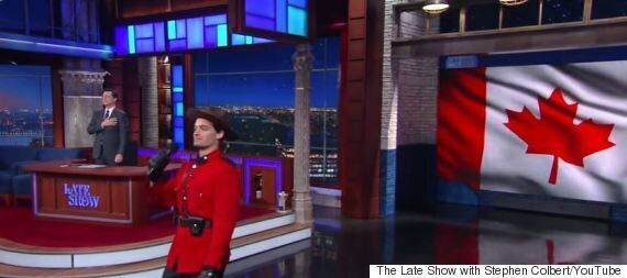 Stephen Colbert's 'O Canada' Has All The Canadian Stereotypes You Can