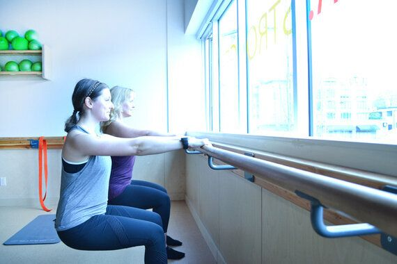 The Unexpected Things That Happen When A Klutz Tries Barre