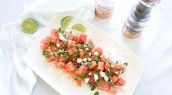 RECIPE: Fresh Watermelon Mint And Feta