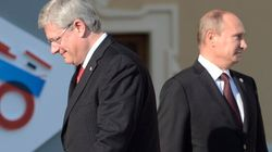 Harper Slams Putin..