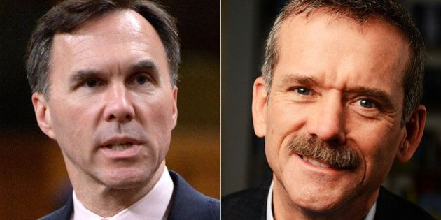 Bilderberg Meeting 2016: Bill Morneau, Chris Hadfield To Attend Secretive